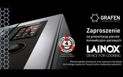 Prezentacja pieców Lainox – już wkrótce!