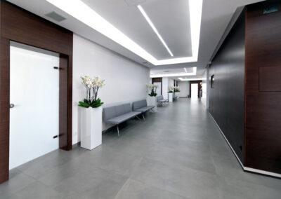 Klinika wnętrza1 400x284 - Medical Clinic - Podhale